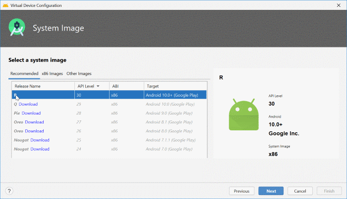 install Android on Windows 10 pic33