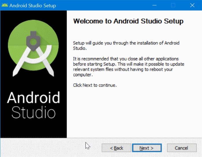 install Android on Windows 10 pic3