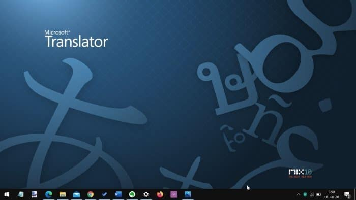 move taskbar to the bottom of the screen in Windows 10 pic01