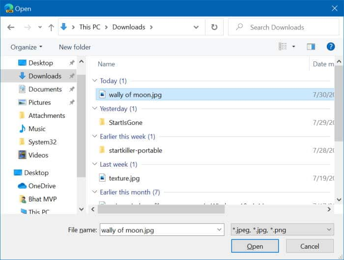 change Microsoft edge new tab background image pic3