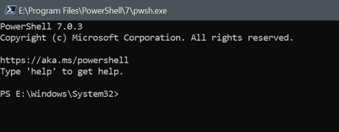 install powershell 7 on Windows 10 pic13