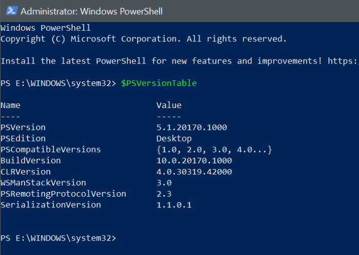 install powershell 7 on Windows 10 pic1