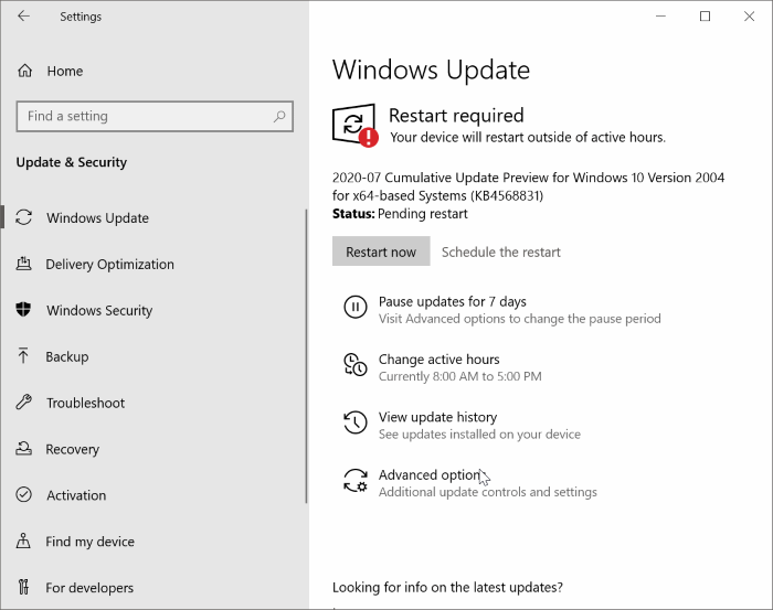 Enable or Disable the new Start Menu in Windows 10 pic8
