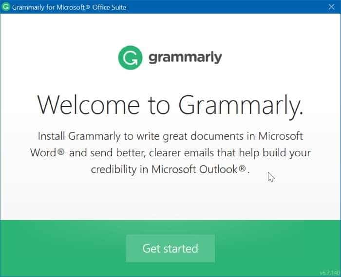 Grammarly missing from Office Word pic7