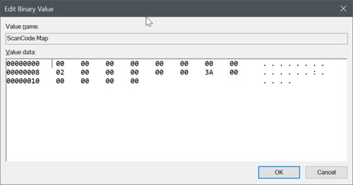 disable capslock key in Windows 10 pic2