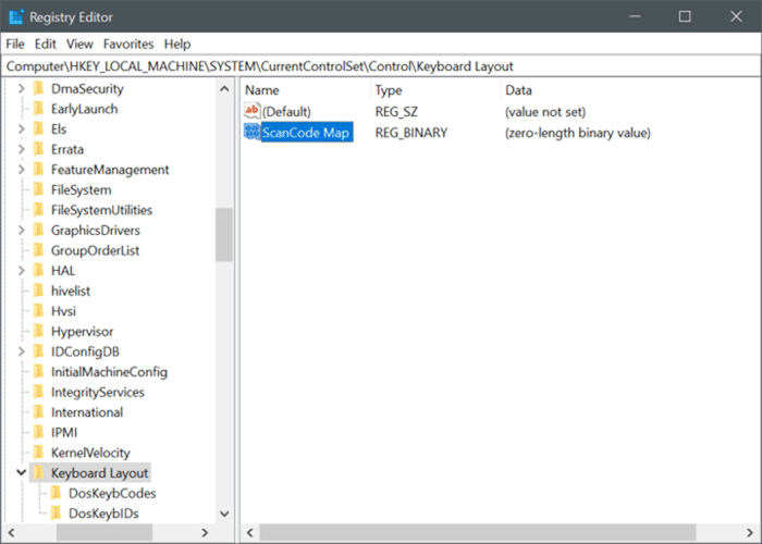 disable capslock key in Windows 10 pic4