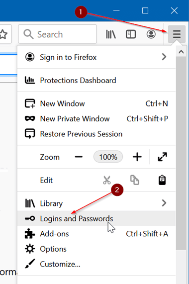 import passwords to Firefox from a CSV file pic2.2
