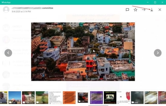 save download whatsapp videos photos to Windows 10 PC pic4