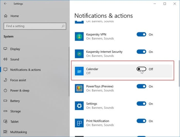 add or delete reminders in Windows 10 Calendar pic13