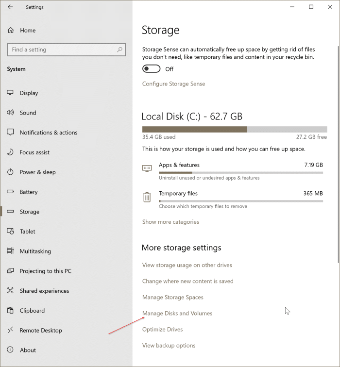 check if a drive is GPT or MBR in Windows 10 pic12