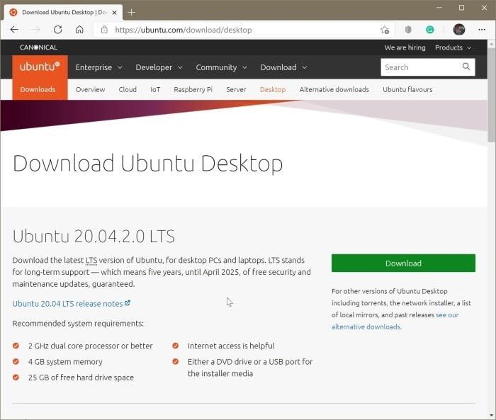 create Ubuntu Live USB on Windows 10 PC pic01