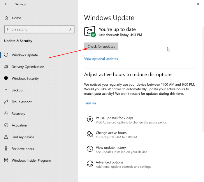 update display driver in Windows 10 pic01