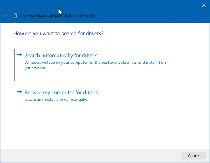 update display driver in Windows 10 pic4