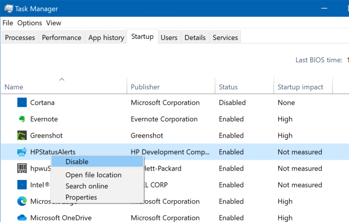 view all startup programs in Windows 10 pic4