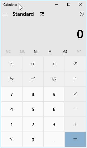 create keyboard shortcut to open calculator in Windows 10 pic01