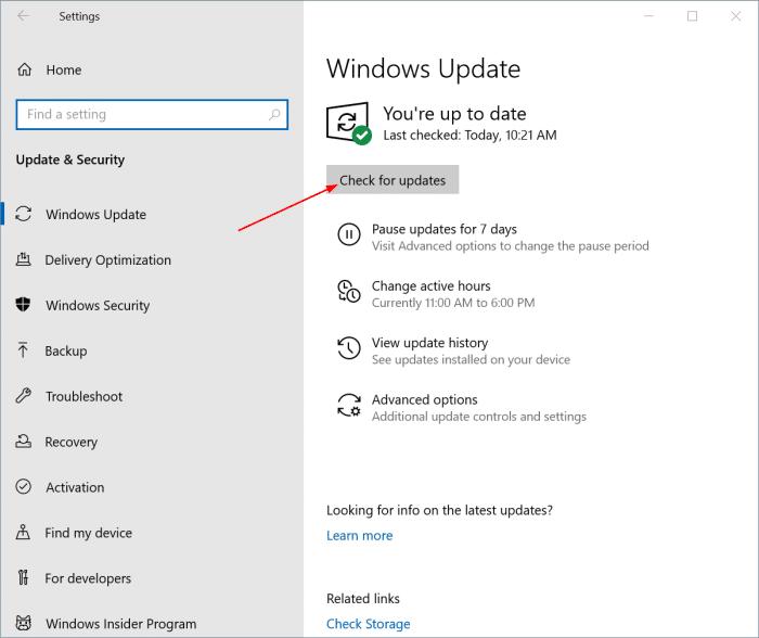 install Windows 10 May 2021 Updatepic01