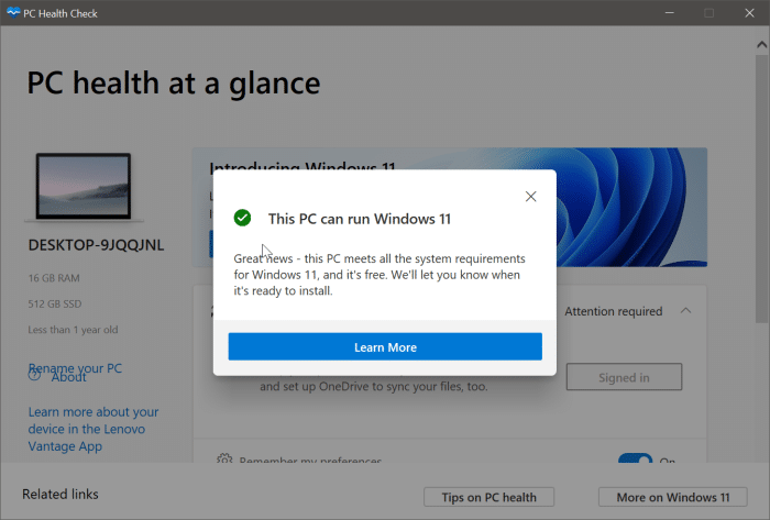 check if your PC can run Windows 11 pic2