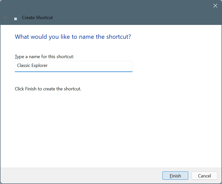 get Windows 10 file explorer in Windows 11 pic8