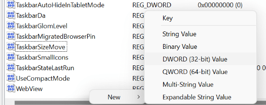 make taskbar smaller in Windows 11 pic6