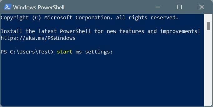 open settings in Windows 11 pic10