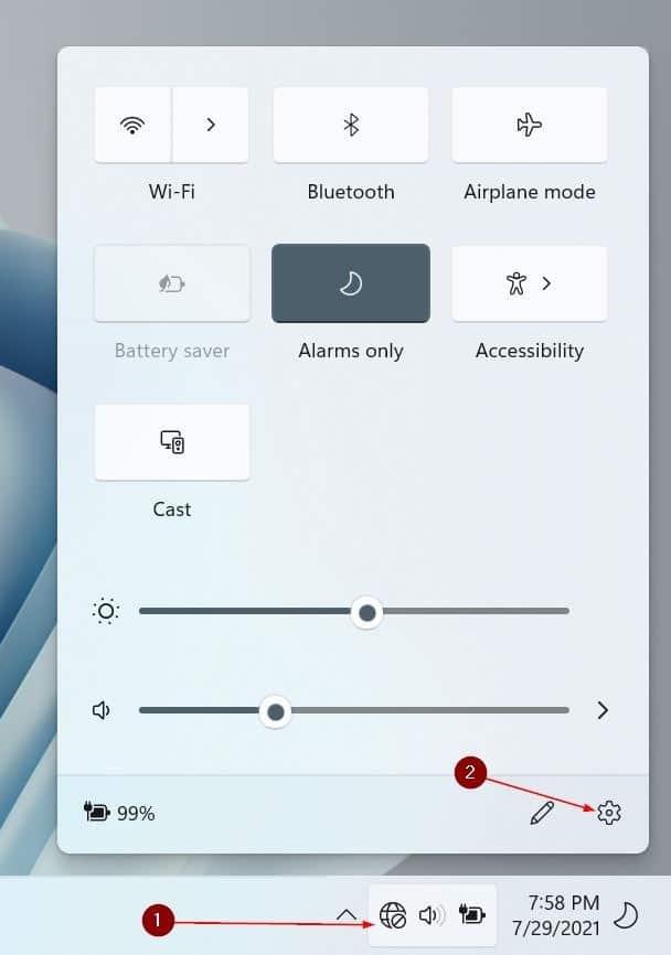 open settings in Windows 11 pic4