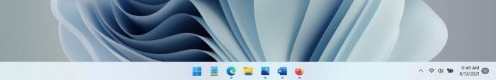 auto hide taskbar in Windows 11 pic01