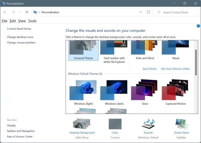 change Windows 11 theme pic6