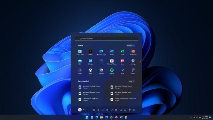 dark mode Windows 11 pic01