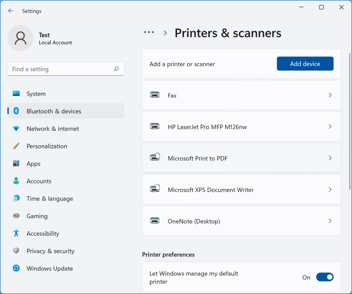 is my printer comaptible with Windows 11 pic1