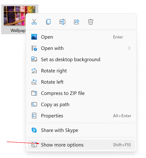 cut copy and paste in Windows 11 pic6