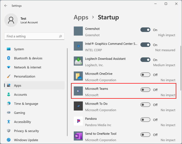 remove chat icon from taskbar in Windows 11 pic9