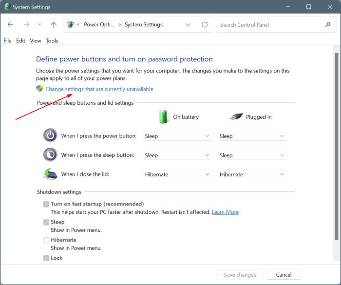 enable hibernate in Windows 11 start menu pic4