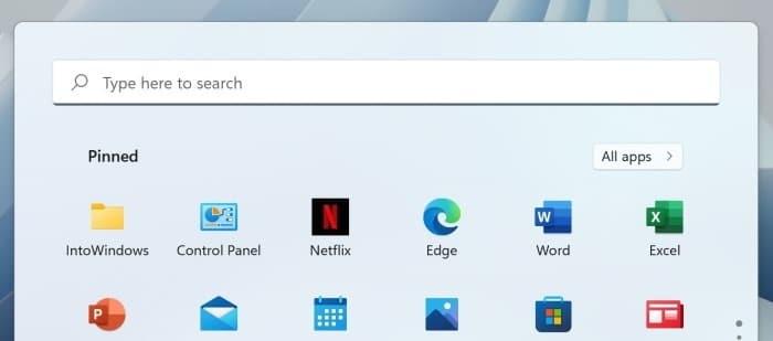 pin a folder to start menu in Windows 11 pic3