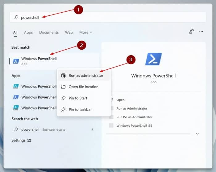 reset the Settings app in Windows 11 pic4